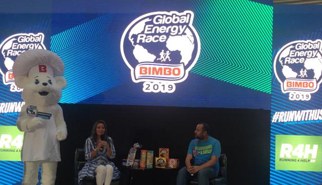 ¡Todos podemos formar parte del Global Energy Race de Bimbo!